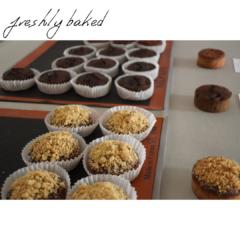 Baked goods 焼き菓子